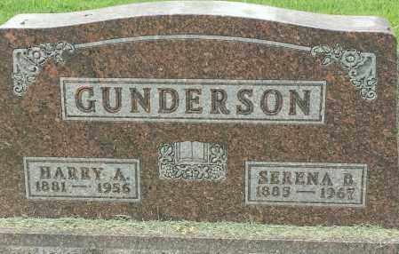 GUNDERSON, SERNA B - Hamlin County, South Dakota   SERNA B GUNDERSON - South Dakota Gravestone Photos