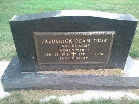 "GUSE, FREDERICK DEAN ""MILITARY"" - Hamlin County, South Dakota | FREDERICK DEAN ""MILITARY"" GUSE - South Dakota Gravestone Photos"