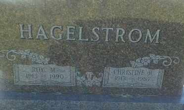 HAGELSTROM, ROY M - Hamlin County, South Dakota | ROY M HAGELSTROM - South Dakota Gravestone Photos