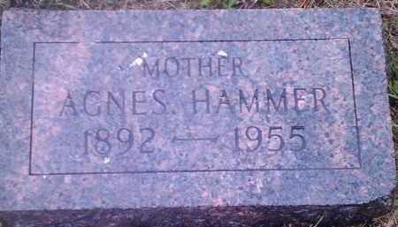 HAMMER, AGNES - Hamlin County, South Dakota | AGNES HAMMER - South Dakota Gravestone Photos