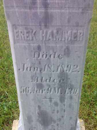 HAMMER, EREK - Hamlin County, South Dakota | EREK HAMMER - South Dakota Gravestone Photos