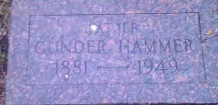 HAMMER, GUNDER - Hamlin County, South Dakota | GUNDER HAMMER - South Dakota Gravestone Photos