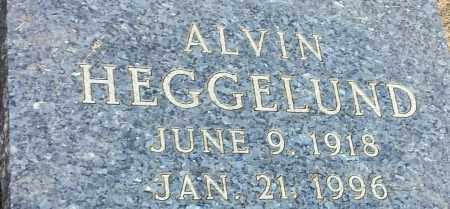 HEGGELUND, ALVIN - Hamlin County, South Dakota | ALVIN HEGGELUND - South Dakota Gravestone Photos