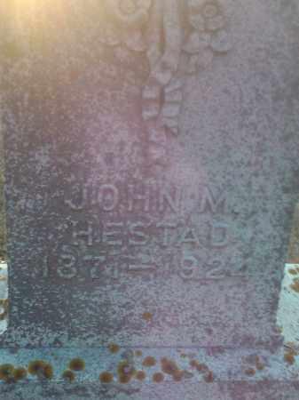 HESTAD, JOHN M - Hamlin County, South Dakota | JOHN M HESTAD - South Dakota Gravestone Photos