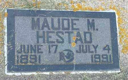 HESTAD, MAUDE M - Hamlin County, South Dakota | MAUDE M HESTAD - South Dakota Gravestone Photos