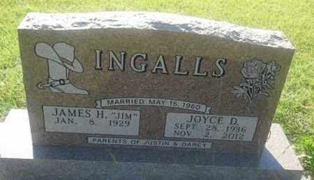 INGALLS, JAMES H - Hamlin County, South Dakota | JAMES H INGALLS - South Dakota Gravestone Photos