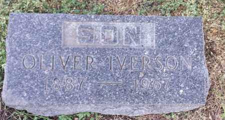IVERSON, OLIVER - Hamlin County, South Dakota | OLIVER IVERSON - South Dakota Gravestone Photos
