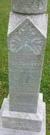 JAGER, BERNAT - Hamlin County, South Dakota | BERNAT JAGER - South Dakota Gravestone Photos