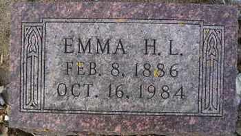 JAGER, EMMA H L - Hamlin County, South Dakota   EMMA H L JAGER - South Dakota Gravestone Photos