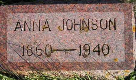 JOHNSON, ANNA - Hamlin County, South Dakota | ANNA JOHNSON - South Dakota Gravestone Photos