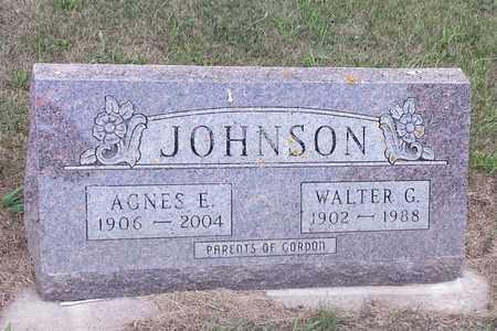 JOHNSON, WALTER G - Hamlin County, South Dakota   WALTER G JOHNSON - South Dakota Gravestone Photos