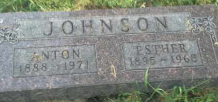 JOHNSON, ESTHER - Hamlin County, South Dakota | ESTHER JOHNSON - South Dakota Gravestone Photos