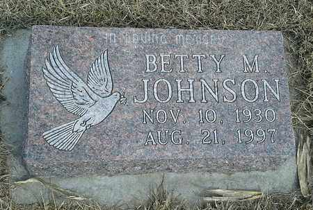 JOHNSON, BETTY M - Hamlin County, South Dakota | BETTY M JOHNSON - South Dakota Gravestone Photos