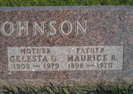 JOHNSON, CELESTA G. - Hamlin County, South Dakota | CELESTA G. JOHNSON - South Dakota Gravestone Photos
