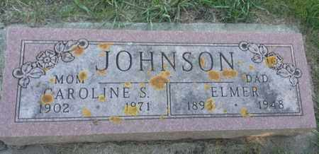 JOHNSON, ELMER - Hamlin County, South Dakota | ELMER JOHNSON - South Dakota Gravestone Photos