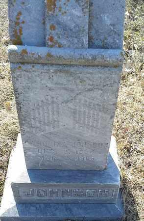 JOHNSON, CAROLINA - Hamlin County, South Dakota | CAROLINA JOHNSON - South Dakota Gravestone Photos