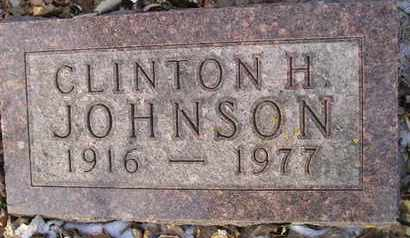 JOHNSON, CLINTON H - Hamlin County, South Dakota | CLINTON H JOHNSON - South Dakota Gravestone Photos