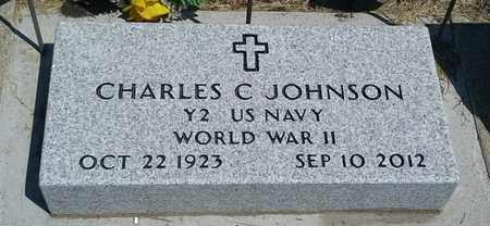 "JOHNSON, CHARLES C ""MILITARY"" - Hamlin County, South Dakota | CHARLES C ""MILITARY"" JOHNSON - South Dakota Gravestone Photos"