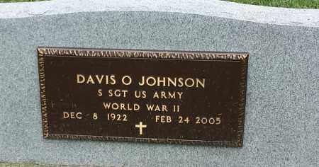 "JOHNSON, DAVIS O ""MILITARY"" - Hamlin County, South Dakota | DAVIS O ""MILITARY"" JOHNSON - South Dakota Gravestone Photos"