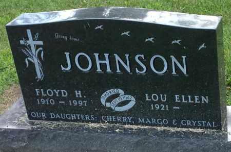 JOHNSON, LOU ELLEN - Hamlin County, South Dakota | LOU ELLEN JOHNSON - South Dakota Gravestone Photos
