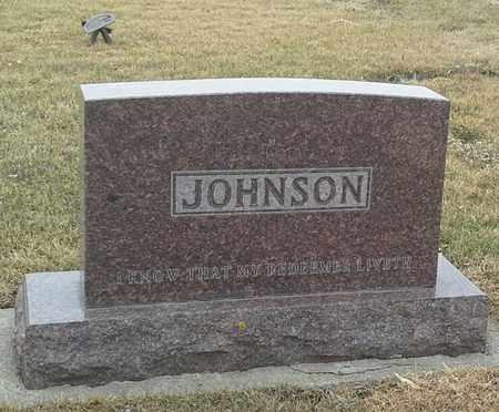JOHNSON, FAMILY STONE - Hamlin County, South Dakota   FAMILY STONE JOHNSON - South Dakota Gravestone Photos
