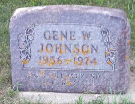 JOHNSON, GENE W - Hamlin County, South Dakota | GENE W JOHNSON - South Dakota Gravestone Photos