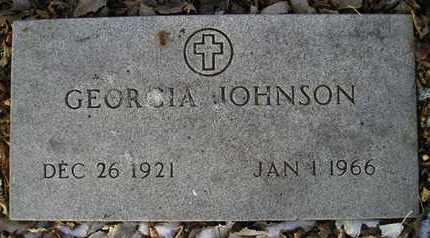 JOHNSON, GEORGIA - Hamlin County, South Dakota | GEORGIA JOHNSON - South Dakota Gravestone Photos