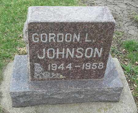 JOHNSON, GORDON L - Hamlin County, South Dakota | GORDON L JOHNSON - South Dakota Gravestone Photos