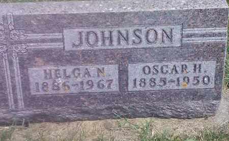 JOHNSON, OSCAR H - Hamlin County, South Dakota | OSCAR H JOHNSON - South Dakota Gravestone Photos