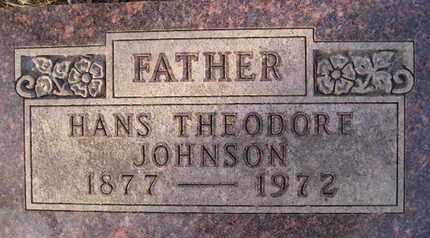 JOHNSON, HANS THEODORE - Hamlin County, South Dakota | HANS THEODORE JOHNSON - South Dakota Gravestone Photos