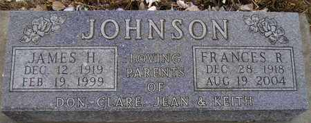 JOHNSON, FRANCES R - Hamlin County, South Dakota | FRANCES R JOHNSON - South Dakota Gravestone Photos