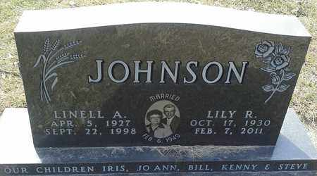JOHNSON, LINELL A - Hamlin County, South Dakota | LINELL A JOHNSON - South Dakota Gravestone Photos