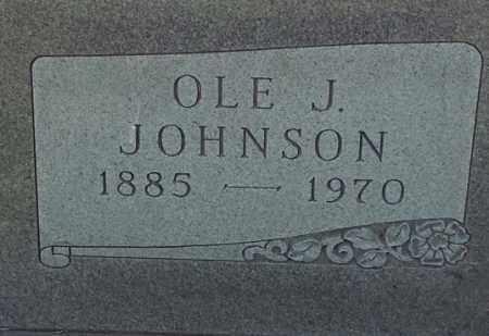 JOHNSON, OLE J - Hamlin County, South Dakota | OLE J JOHNSON - South Dakota Gravestone Photos