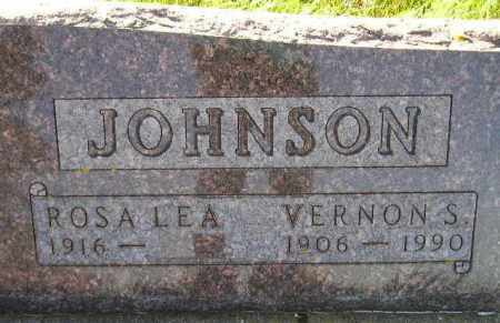 JOHNSON, VERNON S. - Hamlin County, South Dakota | VERNON S. JOHNSON - South Dakota Gravestone Photos
