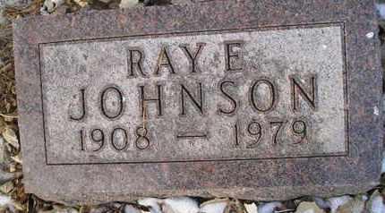 JOHNSON, RAY E - Hamlin County, South Dakota | RAY E JOHNSON - South Dakota Gravestone Photos