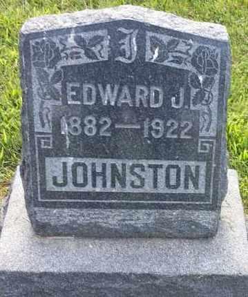 JOHNSTON, EDWARD J - Hamlin County, South Dakota   EDWARD J JOHNSTON - South Dakota Gravestone Photos