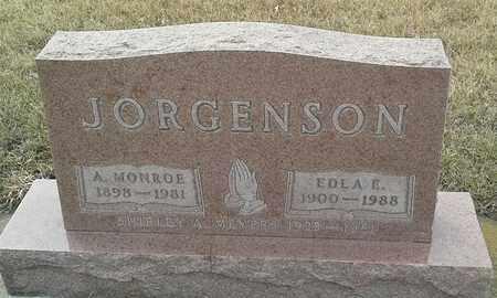 JORGENSON, A. MONROE - Hamlin County, South Dakota | A. MONROE JORGENSON - South Dakota Gravestone Photos