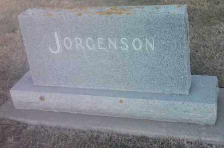 JORGENSON, FAMILY STONE - Hamlin County, South Dakota   FAMILY STONE JORGENSON - South Dakota Gravestone Photos