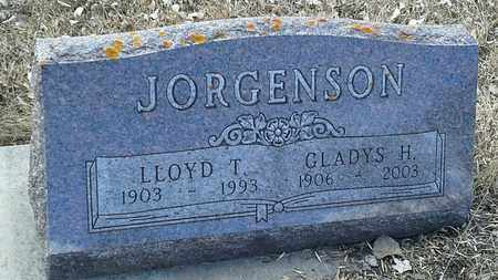 JORGENSON, GLADYS H - Hamlin County, South Dakota | GLADYS H JORGENSON - South Dakota Gravestone Photos