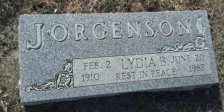 JORGENSON, LYDIA B - Hamlin County, South Dakota | LYDIA B JORGENSON - South Dakota Gravestone Photos