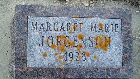 JORGENSON, MARGARET MARIE - Hamlin County, South Dakota   MARGARET MARIE JORGENSON - South Dakota Gravestone Photos