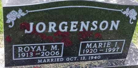 JORGENSON, ROYAL M - Hamlin County, South Dakota | ROYAL M JORGENSON - South Dakota Gravestone Photos
