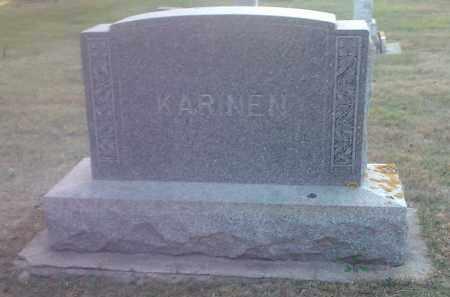 KARINEN, FAMILY STONE - Hamlin County, South Dakota | FAMILY STONE KARINEN - South Dakota Gravestone Photos