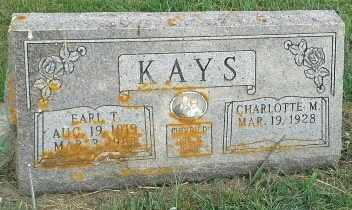 KAYS, EARL T - Hamlin County, South Dakota | EARL T KAYS - South Dakota Gravestone Photos