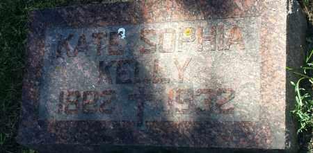 KELLY, KATE SOPHIA - Hamlin County, South Dakota | KATE SOPHIA KELLY - South Dakota Gravestone Photos