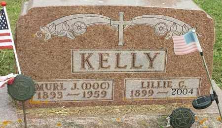 "KELLY, MURL J ""DOC"" - Hamlin County, South Dakota | MURL J ""DOC"" KELLY - South Dakota Gravestone Photos"