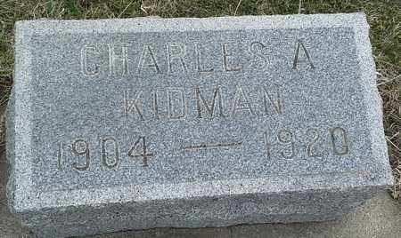 KIDMAN, CHARLES A - Hamlin County, South Dakota | CHARLES A KIDMAN - South Dakota Gravestone Photos