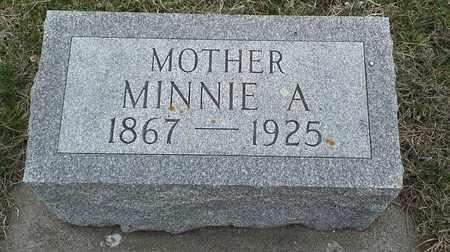 KIDMAN, MINNIE A - Hamlin County, South Dakota   MINNIE A KIDMAN - South Dakota Gravestone Photos
