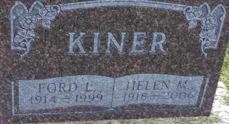 KINER, FORD L - Hamlin County, South Dakota | FORD L KINER - South Dakota Gravestone Photos
