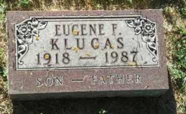 KLUCAS, EUGENE F - Hamlin County, South Dakota | EUGENE F KLUCAS - South Dakota Gravestone Photos
